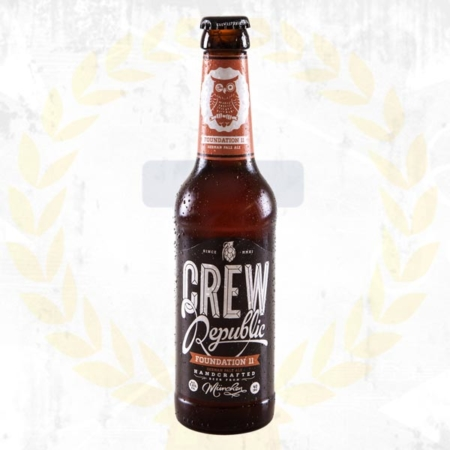 Crew Republic Foundation 11 Pale Ale im Craft Bier Online Shop bestellen - Craft Beer online kaufen