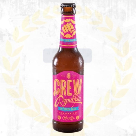 Crew Republic In Your Face Westcoast IPA im Craft Bier Online Shop bestellen - Craft Beer online kaufen