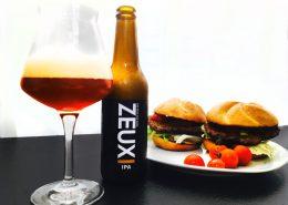 Perfekt zum selbstgemachten Burger passt ein Zeux India Pale Ale.