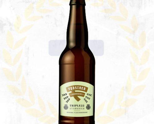 Triple 22 Ein herrlich aromatisches Bier aus Kaindorf von der Brauerein Elfriede Forstner.