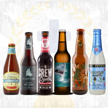 Bierpaket Biergeschenk Fernweh Foreigners im Craft Bier Online Shop bestellen - Craft Beer online kaufen
