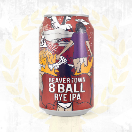 Beavertown 8 Ball Rye IPA Craft Bier online bestellen - Craft Bier online kaufen