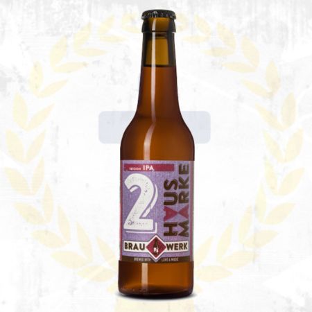 Brauwerk 2 Session IPA India Pale Ale im Craft Bier Online Shop bestellen - Craft Beer online kaufen