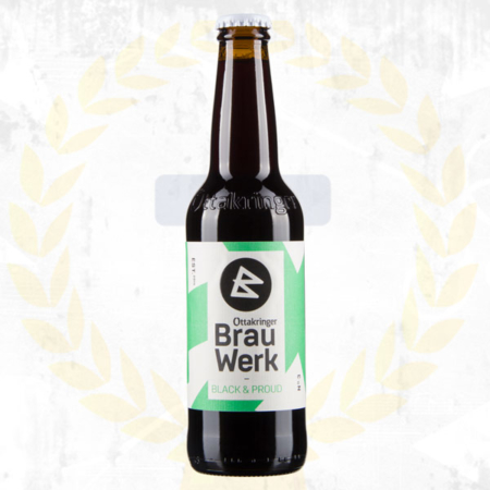 Ottakringer Brauwerk Black and Proud Porter im Craft Bier Online Shop bestellen - Craft Beer online kaufen