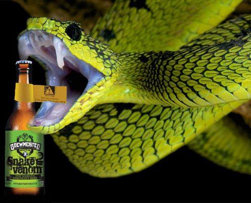 Brewmeister Snake Venom - mit 67,5% das stärkste Bier der Welt.