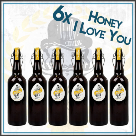 Der Belgier Brewing Honey I Love You groß Honey Ale Honig Dubbel im Craft Bier Online Shop bestellen - Craft Beer online kaufen