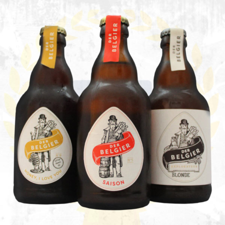 Der Belgier Brewing Probierpaket Saison Hony I Love You Blonde im Craft Bier Online Shop bestellen - Craft Beer online kaufen