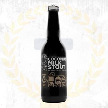 Sakiskiu Alus Coconut Milk Stout aus Litauen im Craft Bier Online Shop bestellen - Craft Beer online kaufen