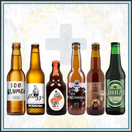 Bierpaket Österreich Biergeschenk 6 Flaschen regional im Bier Online Shop kaufen bestellen