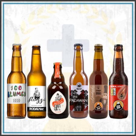 Bierverkostung zuhaus eBierpaket Österreich Biergeschenk Biergeschenk regional lokal Online Shop bestellen und online kaufen