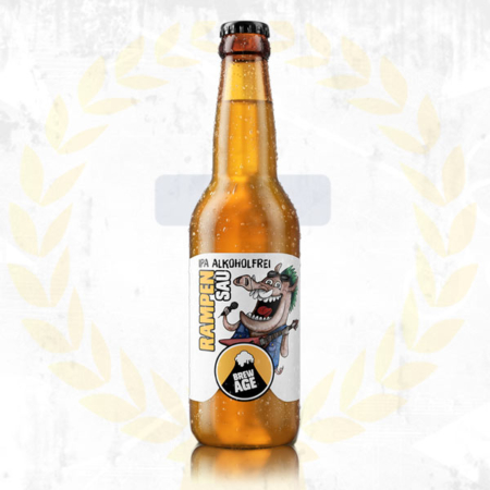 Brew Age Rampensau alkoholfreies India Pale Ale IPA im Craft Bier Online Shop bestellen - Craft Beer online kaufen