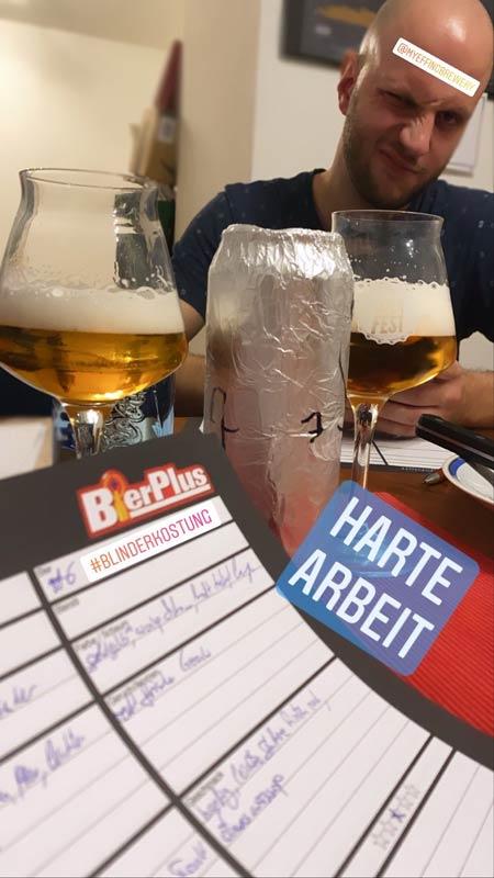 Die Dosenbier Blindverkostung Bierverkostung, Craft Bier ganz anders und ohne Craft.