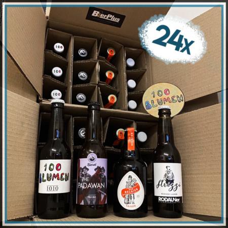24 Flaschen Bierpaket Österreich Biergeschenk regional lokal Wien Tirol im Bier Online Shop kaufen bestellen