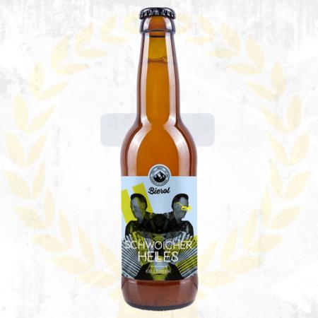 Bierol Schwoicher Helles Kellerbier Zwickl aus Tirol im Craft Bier Online Shop bestellen - Craft Beer online kaufen
