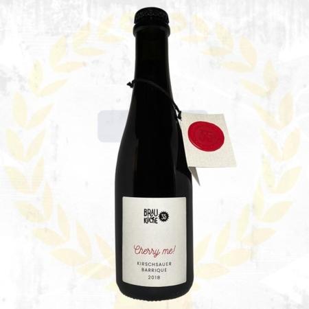Brauküche 35 Cherry Me Kirschsauer Barrique Holzfass 2018 Sauerbier Oak Barrel Aged aus Schalladorf Österreich im Craft Bier Online Shop bestellen - Craft Beer online kaufen