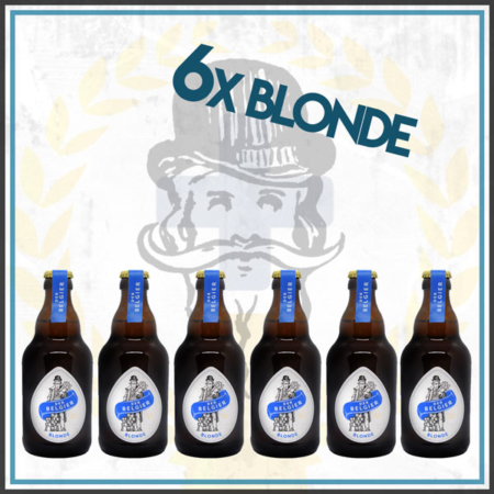 Der Belgier Brewing 6er Blonde Bierpaket im Craft Bier Online Shop bestellen - Craft Beer online kaufen
