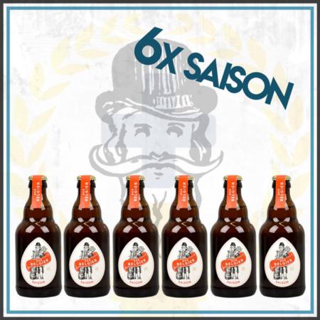 Der Belgier Brewing 6er Saison Bierpaket im Craft Bier Online Shop bestellen - Craft Beer online kaufen