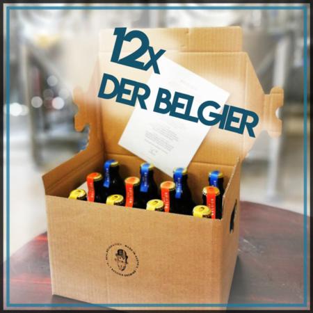 Der Belgier Brewing 12er Probierpaket Saison Hony I Love You Blonde Bierpaket Biergeschenk im Craft Bier Online Shop bestellen - Craft Beer online kaufen