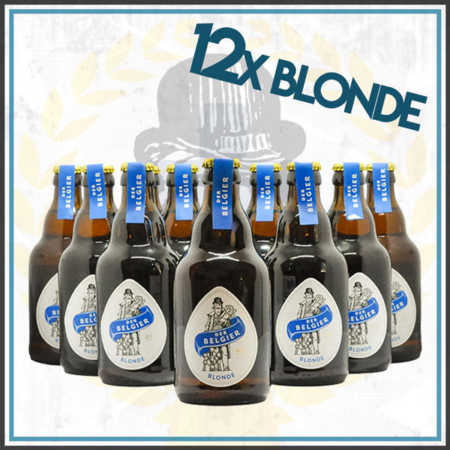 Der Belgier Brewing 12er Blonde Bierpaket im Craft Bier Online Shop bestellen - Craft Beer online kaufen