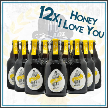 Der Belgier Brewing 12er Honey I Love You Bierpaket Honey Ale im Craft Bier Online Shop bestellen - Craft Beer online kaufen