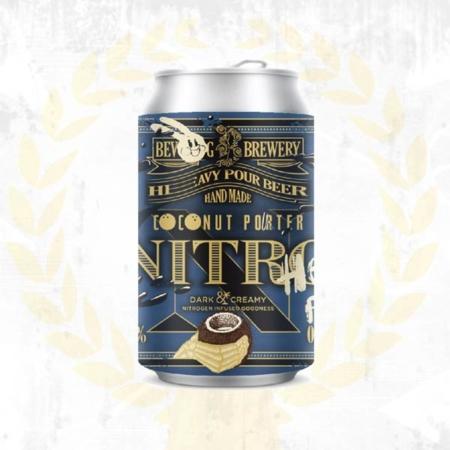 Bevog Nitro Coconut Porter Nitrogen Stickstoff Steiermark aus Bad Radkersburg im Craft Bier Online Shop bestellen - Craft Beer online kaufen