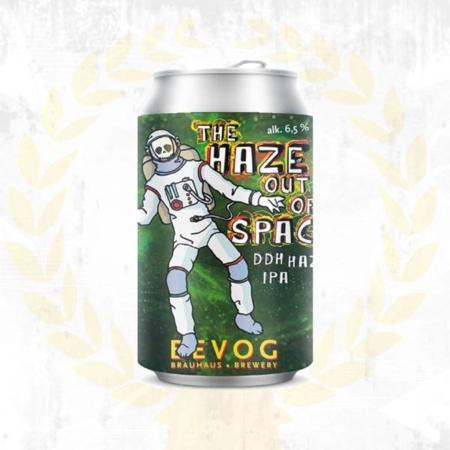 Bevog The Haze out of Space double dry hopped Hazy IPA India Pale Ale fruchtig aus Bad Radkersburg Steiermark aus Bad Radkersburg im Craft Bier Online Shop bestellen - Craft Beer online kaufen