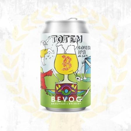 Bevog Who Cares Totem Sour IPA Sauerbier saures India Pale Ale aus Bad Radkersburg Steiermark aus Bad Radkersburg im Craft Bier Online Shop bestellen - Craft Beer online kaufen