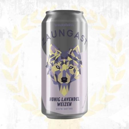 Braukollektiv Zaungast Honig Lavendel Weizen American Wheat aus Wien Österreich im Craft Bier Online Shop bestellen - Craft Beer online kaufen